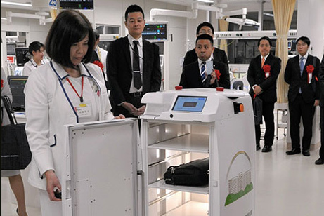 Nagoya University Hospital Robots