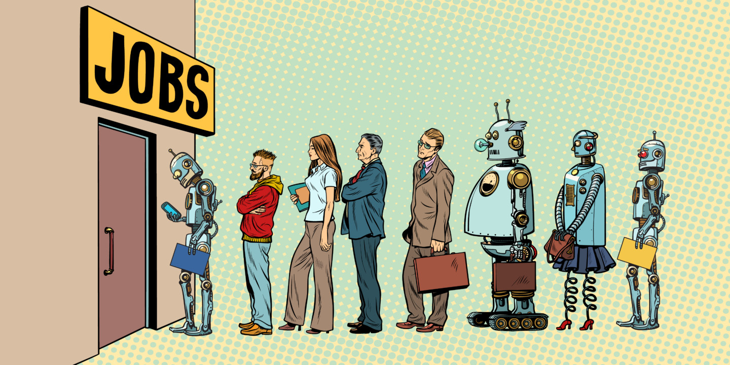 Robot Workers on the International Scale
